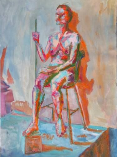 "Saatchi Art Artist Boboc Mihai; Painting, ""New Marina"" #art"