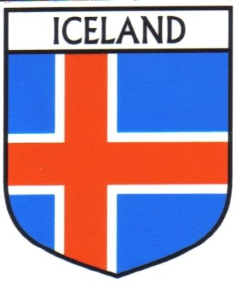 ICELAND Flag Country ICELAND Flag Sticker | foreverythinggenealogy.openstores.com.au