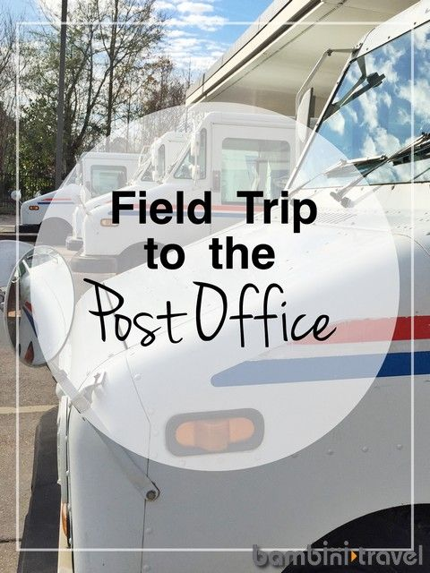 Post Office Field Trip || everything you need to know about taking preschoolers on a field trip to the post office || Learning Thru Adventure || Bambini Travel
