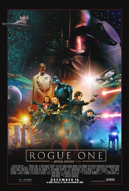Galaxy Fantasy: Genial fan-póster de Rogue One A Star Wars Story