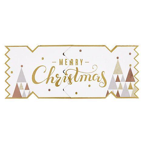 Buy Cracker Card, Lux Snowflake Online at johnlewis.com