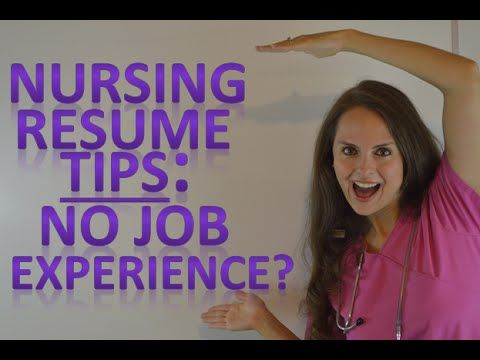 Nursing Resume   New Nurse Tips for Graduates with No Job Experience