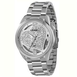 Relógio Feminino Analógico Lince LRMK039L S2SX - Prata