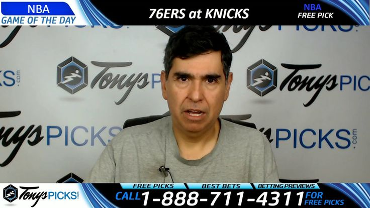Philadelphia 76ers vs. New York Knicks Free NBA Basketball Picks and Pre...