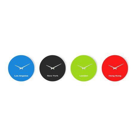 Scale 1:1 // International Clock Kit // 4 Clocks