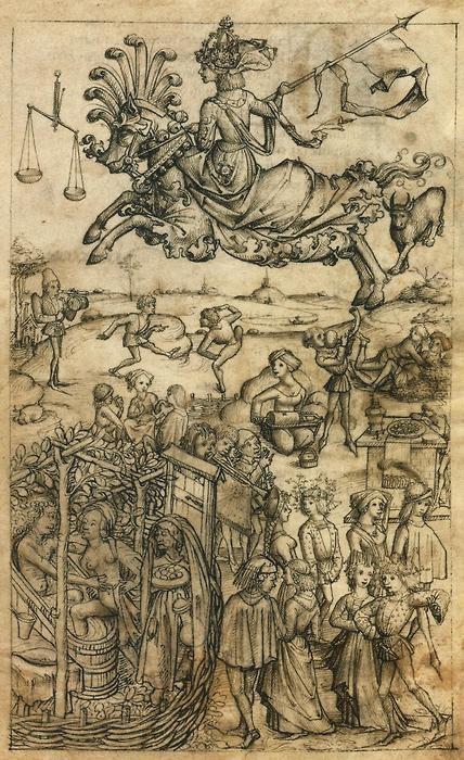 The Medieval Housebook, Venus