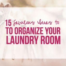 #organize #laundry #laundryroom
