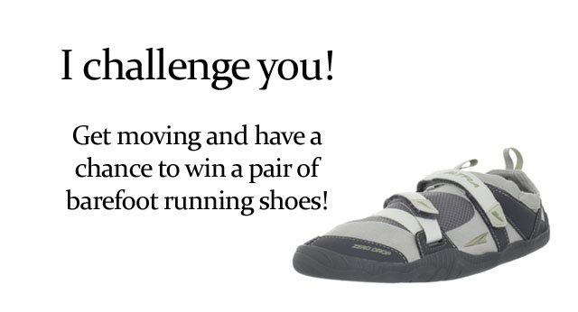 Win some barefoot shoes! Enter now....Get moving mini challenge: Fast Workout