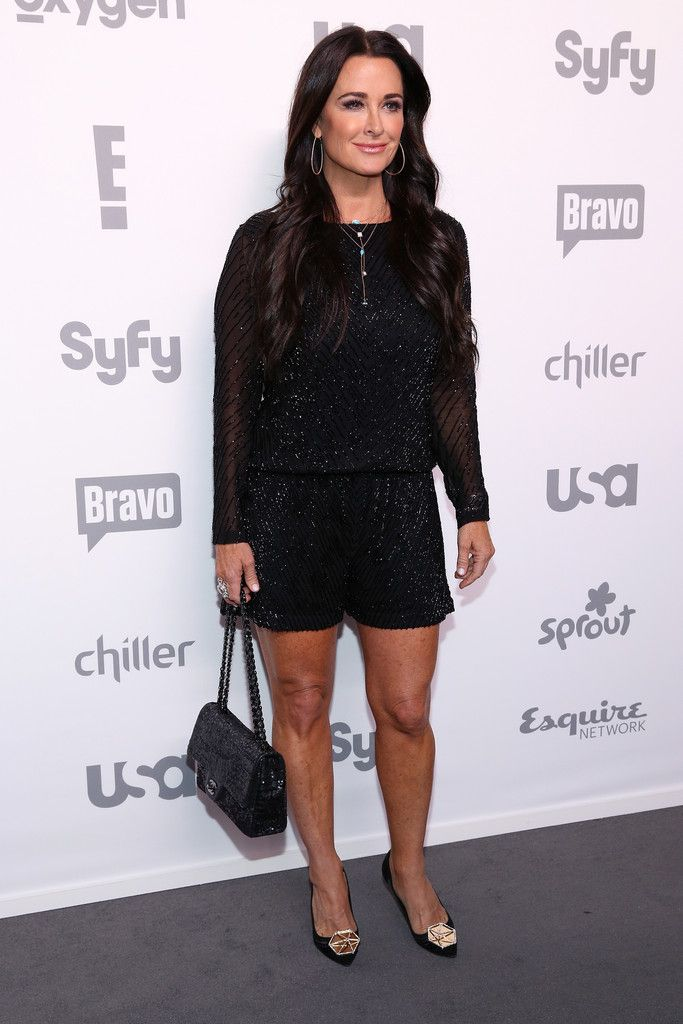 Kyle Richards Photos Photos - Kyle Richards attends the 2015 NBCUniversal Cable Entertainment Upfront at The Jacob K. Javits Convention Center on May 14, 2015 in New York City. - 2015 NBCUniversal Cable Entertainment Upfront