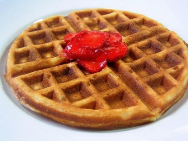 Como hacer Waffles caseros