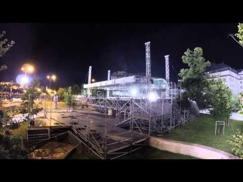 Vodafone Vízilabda Aréna: Az építés - YouTube