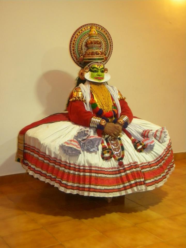 Club Mahindra Ashtamudi, Kathakali performance by Ashitava