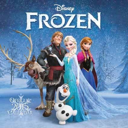 FREE 2015 Calendar From WHSmith With O2 Priority Moments - Gratisfaction UK Freebies #frozen #calendar #2015 #christmas #freestuff #freebiesuk