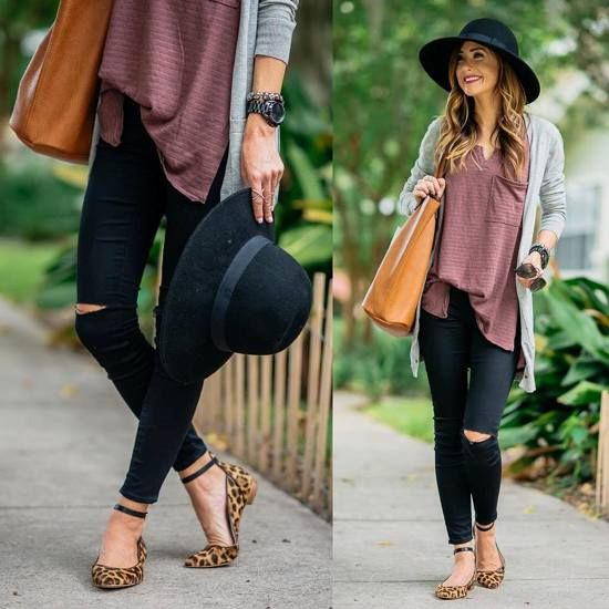 neutral fall casual look, What to wear in Thanks-giving day http://www.justtrendygirls.com/what-to-wear-in-thanks-giving-day/