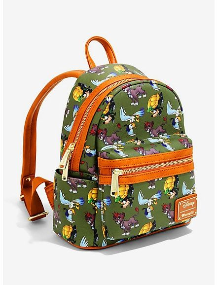 3b33eba121a Loungefly Disney Kingdom Hearts Safari Mini Backpack - BoxLunch Exclusive