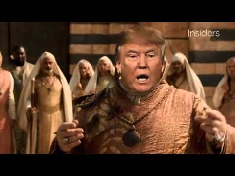 Donald Trump   Game of Thrones   Winter is Trumping. Hilarious