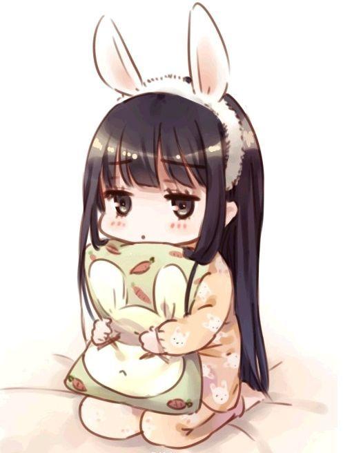 Garota Anime-Chibi-Cute-Fofinha <3