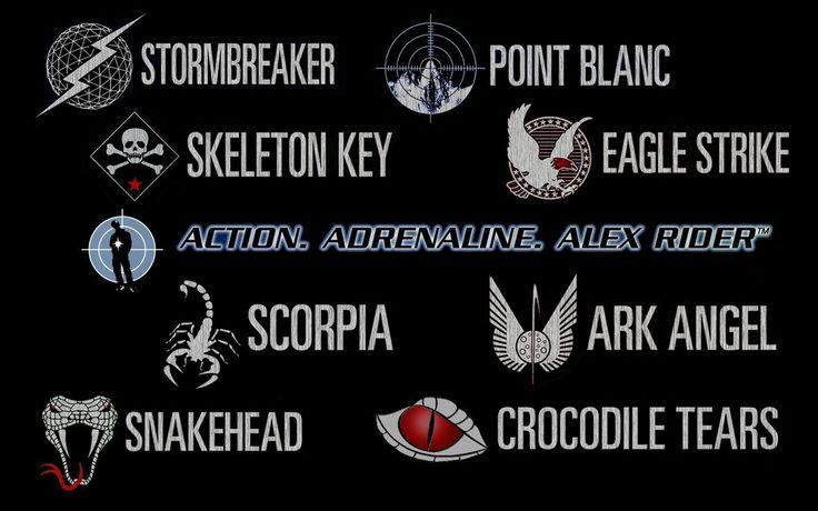 alex rider symbols