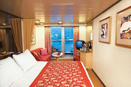 Cruises on ms Noordam, a Holland America Line cruise ship. My cabin on the Noordam