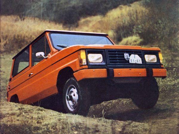 Dacia Duster - orange utilitarianism