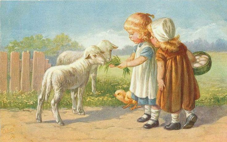 Alenquerensis: Wally Fialkowska postais de Páscoa - Wally Fialkowska Easter…