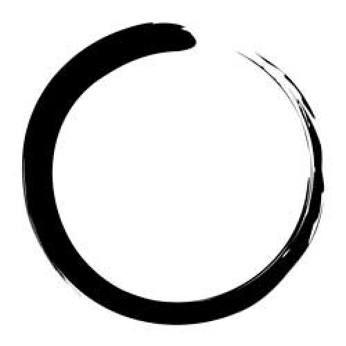 Enso The enso is a simple calligraphic design originating from Zen Buddhism. No two enso are exactly alike. Both the circular shape of the enso and the method by which it is created are connected to its symbolic meaning; the concept of eternity and the state of enlightenment.