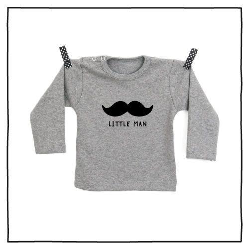 100% katoenen shirt met hippe opdruk Little Man vanPauline door vanpauline op Etsy https://www.etsy.com/nl/listing/222889597/100-katoenen-shirt-met-hippe-opdruk