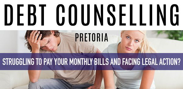 Due to the current economic climate, many consumers in Pretoria are struggling to manage their debt and keep up with monthly payments to creditors. Find out how Debt Counselling can help these people by visiting our site now. #debt #baddebt #blacklisted #southafrica #pretoria