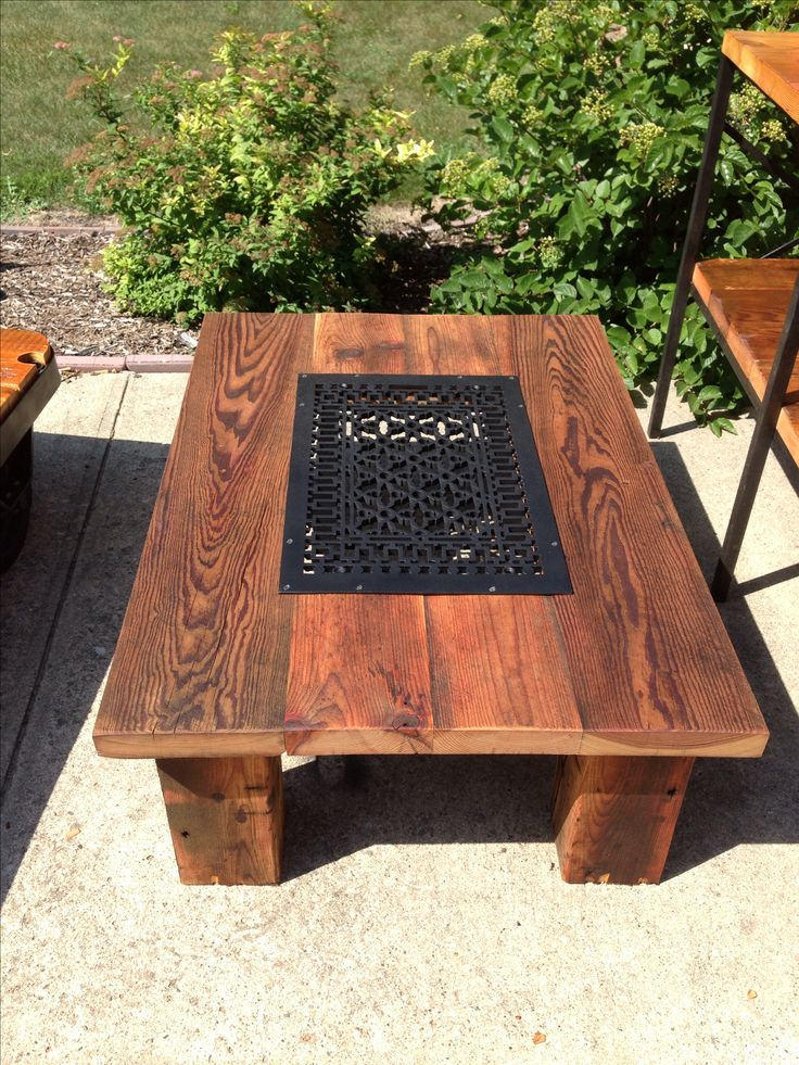 14 best Reclaimed wood coffee tables! images on Pinterest ...