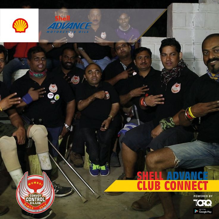 Shell Advance club connect powered by TORQ is experiencing biking passion and a warm welcome from Convoy Control Club #TheWinningIngredient #TORQ #TorqRiderApp #bikerlife #motorcyclediaries