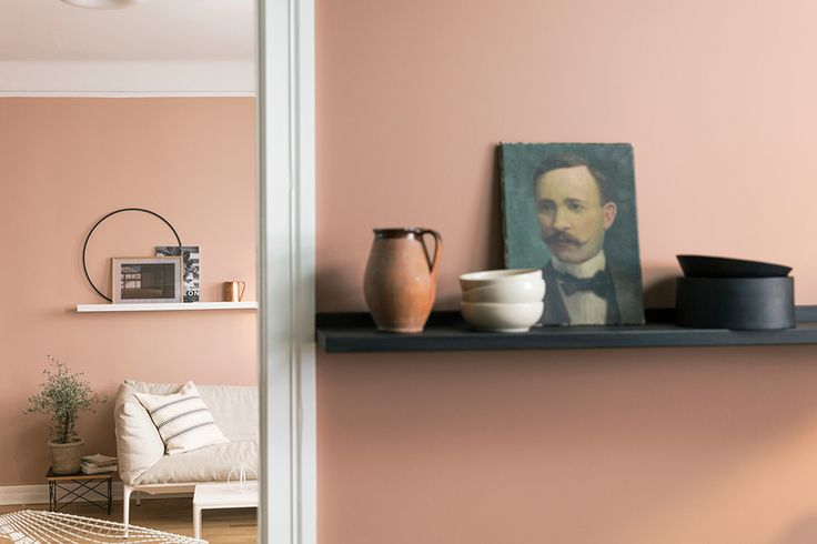 Jotun AW17 Blushing Peach Savanna Sunset - fabric of my life | UK interior design, lifestyle & travel blog