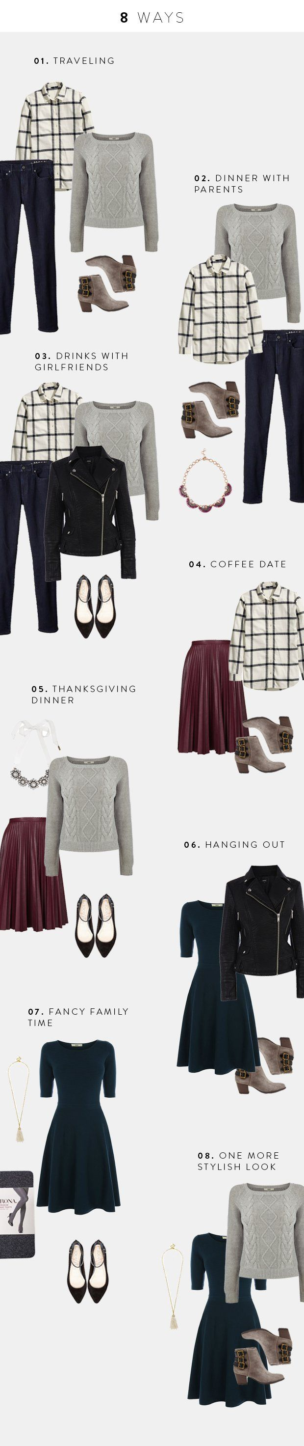 Holiday Outfits to Help You Look Great and Pack Light This Long Weekend | Verily