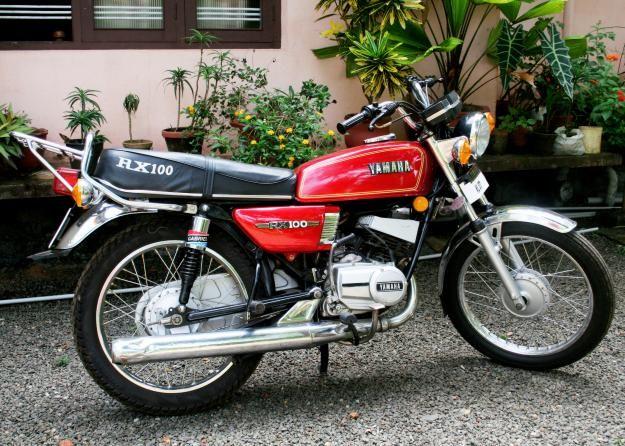 moto yamaha r100