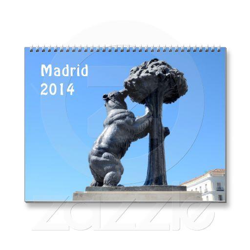 Madrid, Spain 2014  wqll calendar