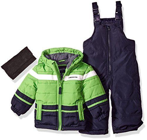 0d0a88e9e28c6 London Fog Baby Boys 2-Piece Snow Pant and Jacket Snowsuit | Finds ...