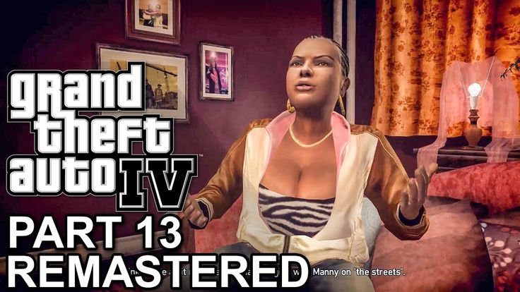 GTA 4 Remastered Gameplay Walkthrough Part 13 Mission Out of The Closet, Luck of The Irish (PC HD)
