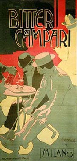 Bitter Campari, 1899 by Hohenstein, Adolfo