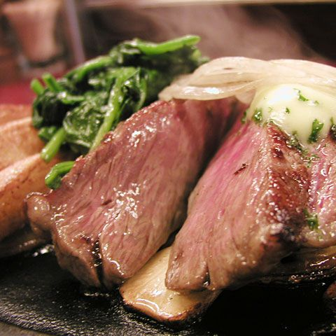 When we think of Kobe beef, we normally think of steaks, quickly grilled and very rare. If you know your science, you know that Kobe beef has low density fat that melt quickly, so any lengthy cooking results in a dry and touch steak. How can you roast Kobe meat? Carefully. Here is one recipe to ...