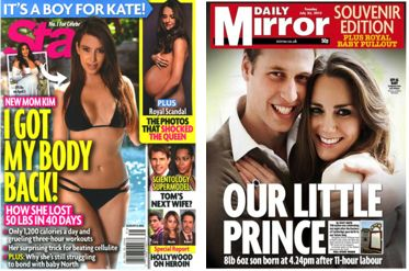 tabloid magazine elegant layouts