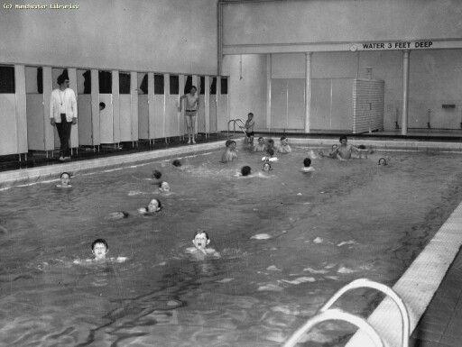 Gorton Baths 1950, Manchester.   carrie's stuff ...