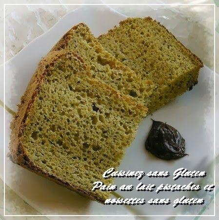Cuisinez sans Gluten: Pain au lait pistaches et noisettes sans gluten