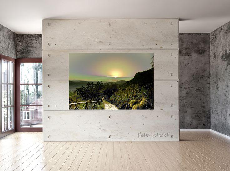 "Kats Original ""Fairytale"" Certified Fine Art PhotoRag print"". 100x 100 cm Diasec 2 mm mat acrylaat / 4 mm Alu-Dibond."