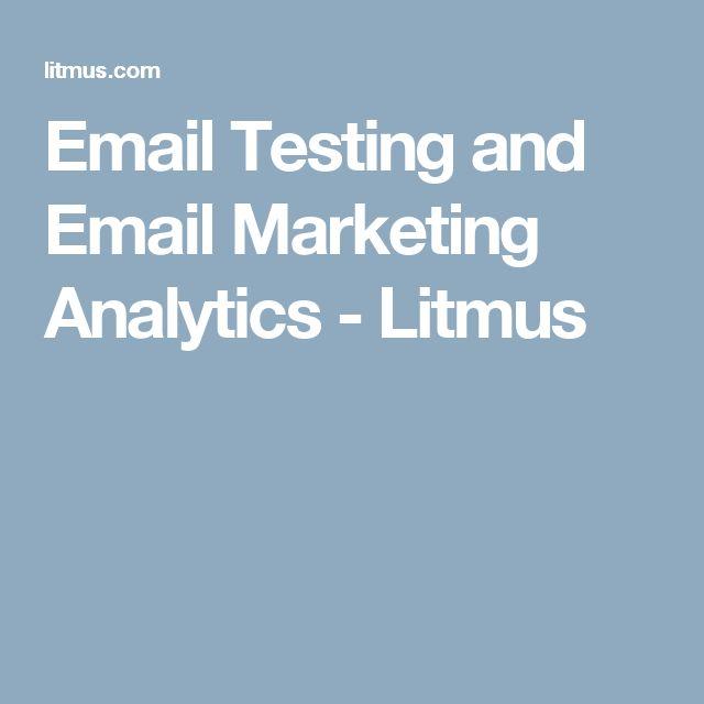 Email Testing and Email Marketing Analytics - Litmus
