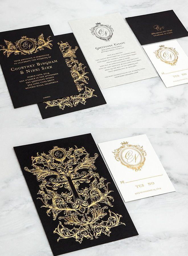 monogram wedding envelope seals sticker%0A Striking Wedding Invitations