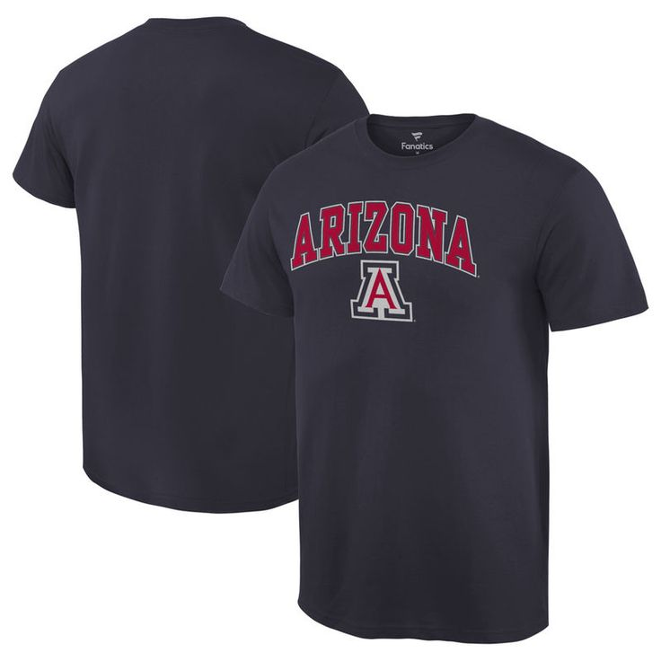 Arizona Wildcats Fanatics Branded Campus T-Shirt - Navy