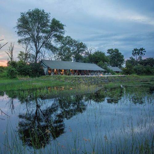 Gomoti Plains Camp, Okavango Delta, #Botswana