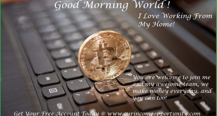 Get your Free Bitcoin Account @  www.ourincomeopportunity.com  and I will send you a link to register for our team webinar and I will add you to our private facebook group!  Email Me @ makingumoney247@gmail.com   Join Me @ www.facebook.com/kem.elliott.10  Call me at: 417-350-1770  Skype @ ken.elliott173    Thank You, Ken Elliott