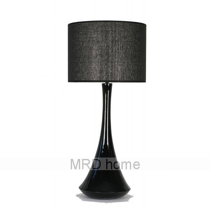 Zara Lamp Black   Table Lamps Zara   MRD HOME