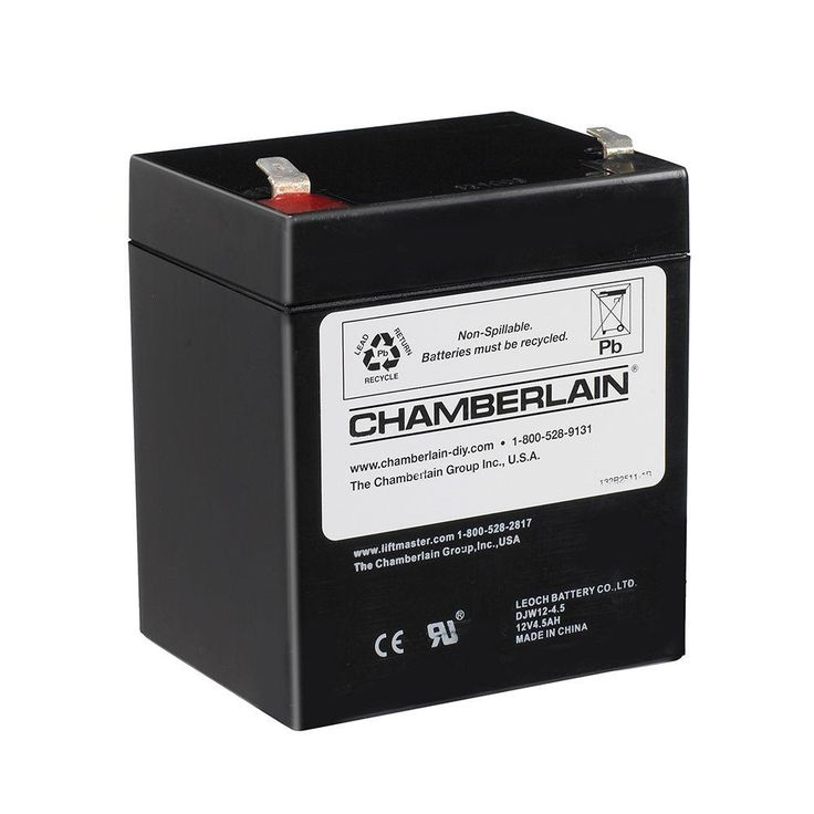 Chamberlain Security Garage Door Opener Battery