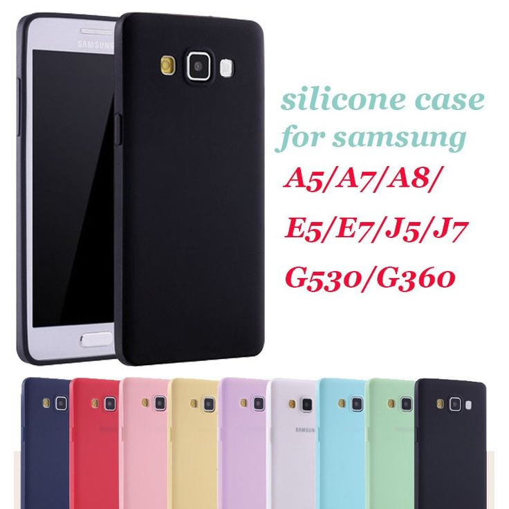 Soft TPU Silicone Case for Samsung Back Cover Coque